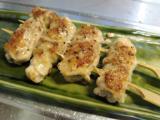 チャーシュー、紫蘇の肉巻串、3種の小鉢、ジャガバタチーズ