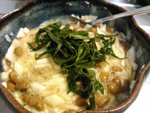 紫蘇山芋納豆