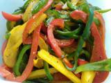 イカのねぎ塩焼き、生ハムのサラダ、ヤゲンとカボチャのグリル、ピーマンのソテー、レンコンのキンピラ