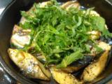 納豆サラダ、レンコンはさみ揚げ、サバのグリル紫蘇乗せ